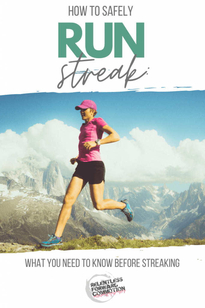 Run streaking involves running at least one mile every day. Is this challenge safe? Here's what you need to know before starting a run streak.