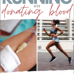 Running After Donating Blood: How Giving Blood Affects Training & Racing