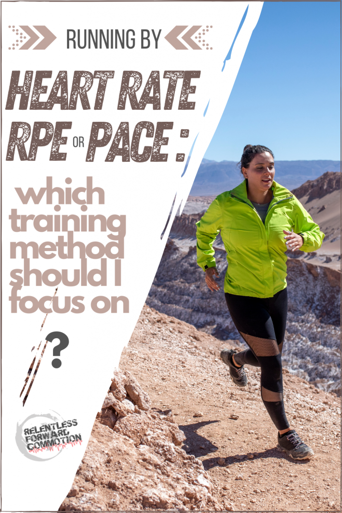 Running by Heart Rate, RPE, or Pace: Which Training Method Should I Focus On?