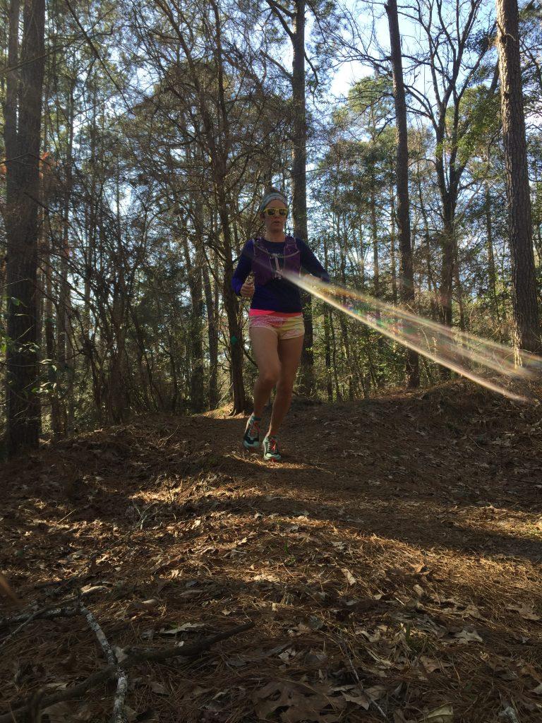 Heather Hart running the Yeti 24 Hour Challenge