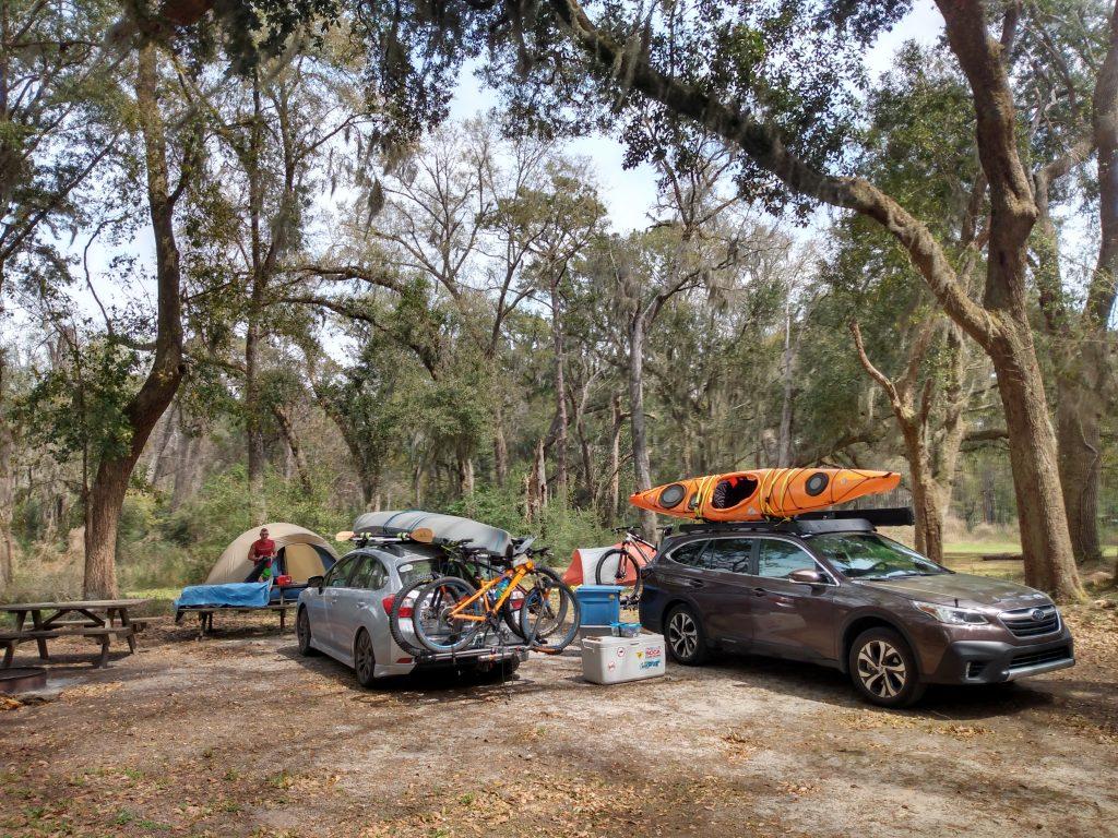 Santee Coastal Reserve Campground