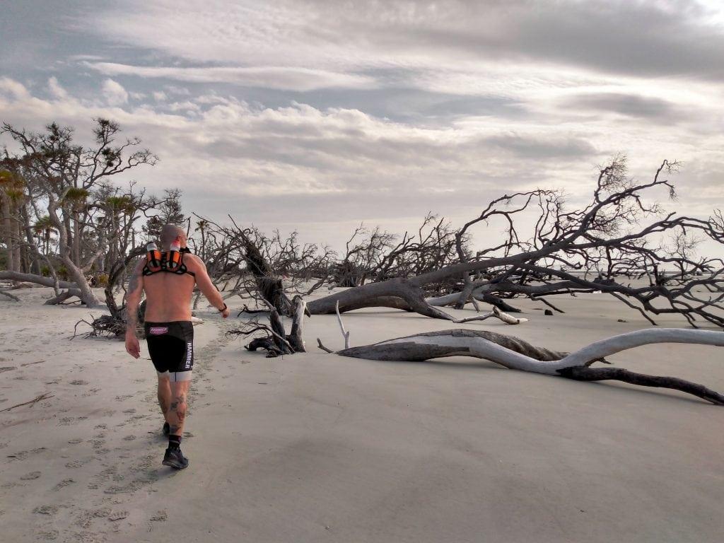Hunting Solstice Ultra Course on Boneyard beach