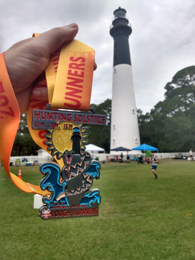 Hunting Solstice Ultra Finishers Medal