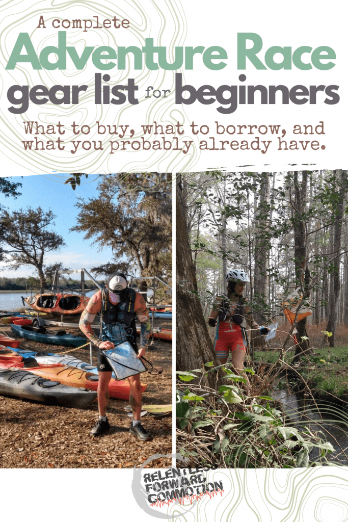 Adventure Race Gear List for Beginners: What to Buy, and What to Borrow For Your First Race