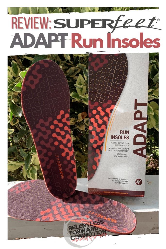 Superfeet ADAPT Run Insoles Review
